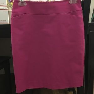 Halogen bright pink pencil skirt, size 0P